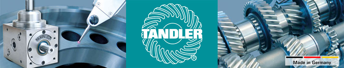 TANDLER Producer of gears and gearboxes